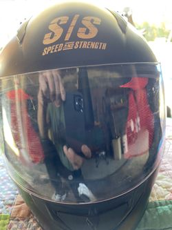 Three motorcycle helmets two large one small $75 each. Or best offer DOT approved Thumbnail