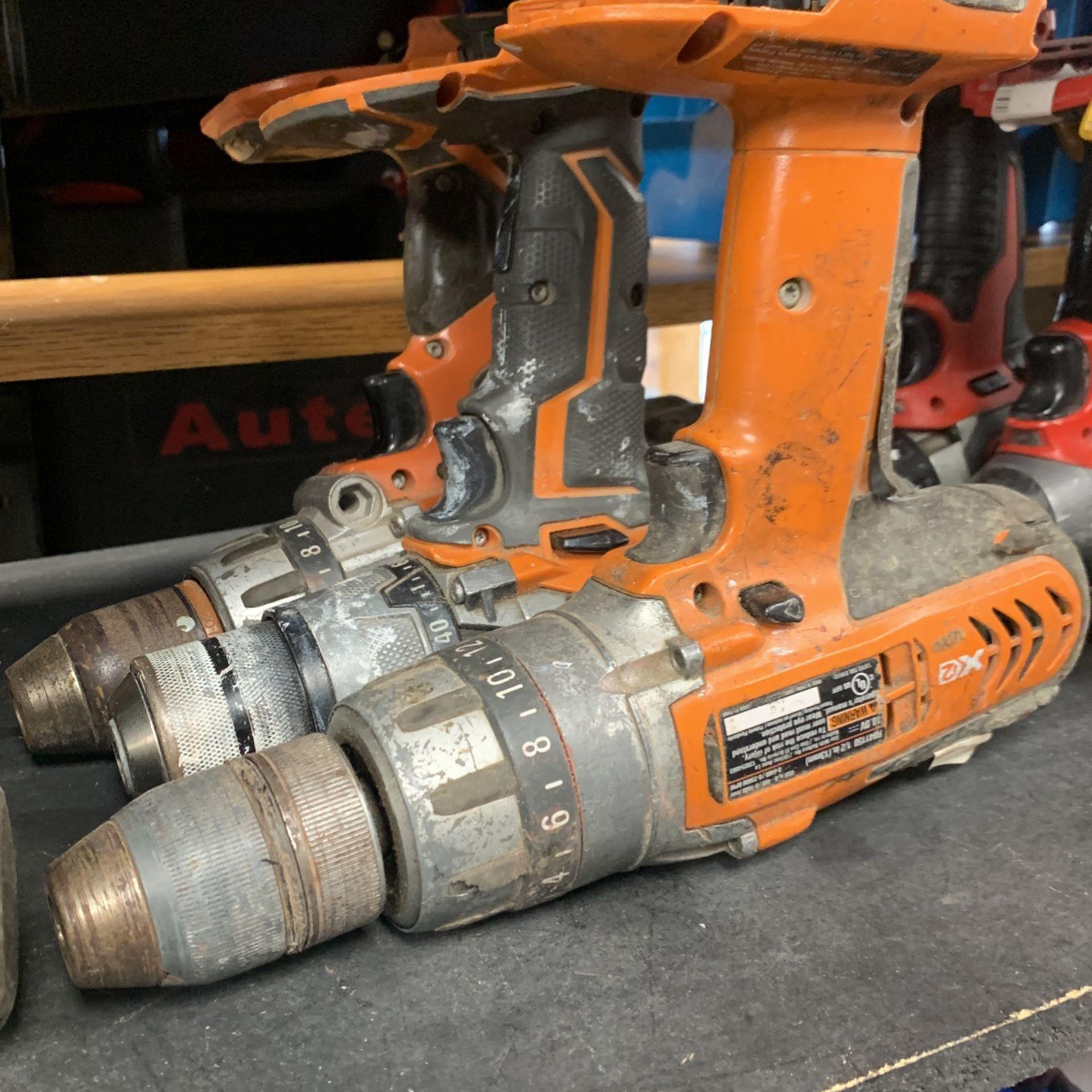 Ridged Drills and Impacts