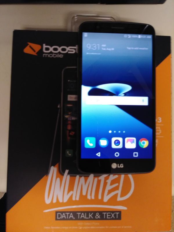 Lg Stylo 3 Boost Mobile for Sale in Bakersfield, CA - OfferUp