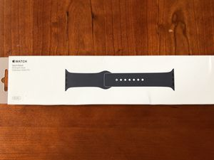 Genuine Apple Watch 38mm Silicon Sport Band | Midnight Blue for Sale in Morrisville, NC