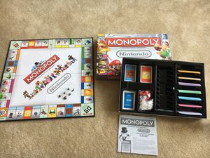 Monopoly Nintendo Edition for Sale in Arlington, VA