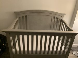 Grey Baby Crib Wardrobe And Changing Table For In Chicago Il