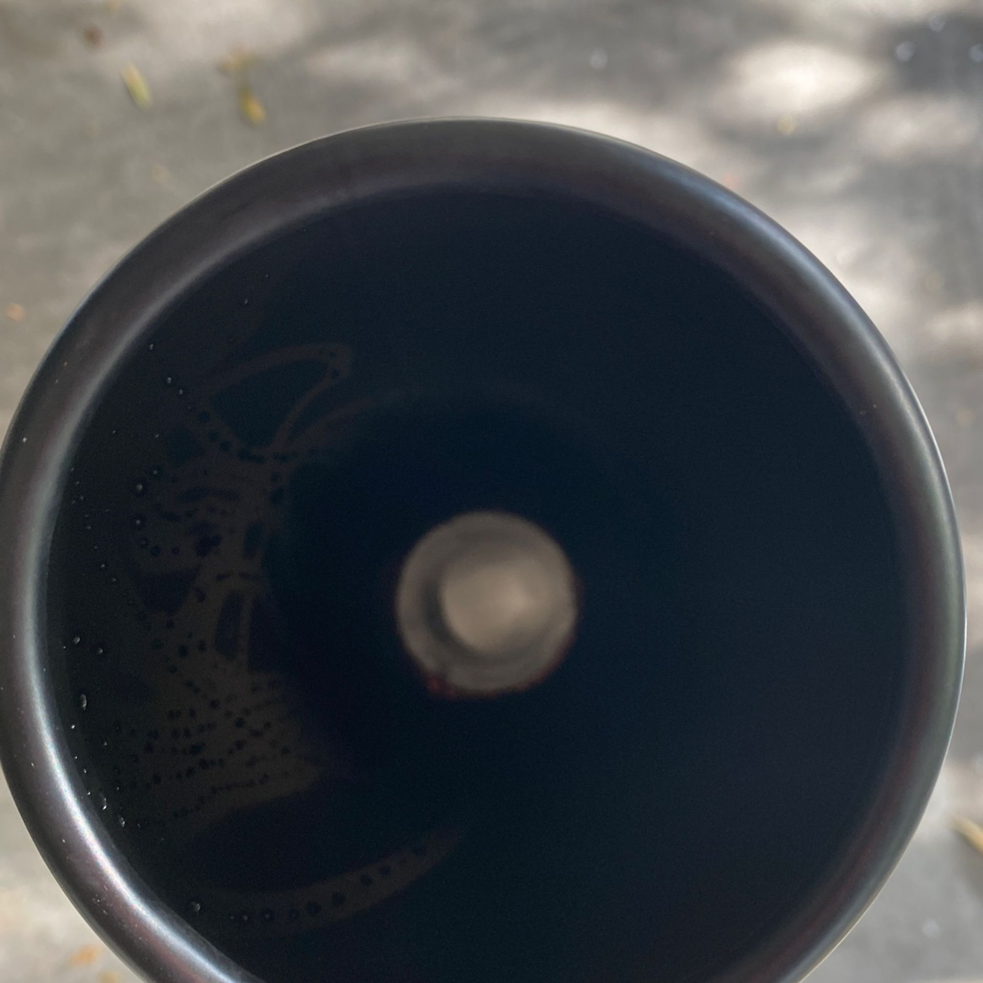 Piece Of Exhaust With Black Tip