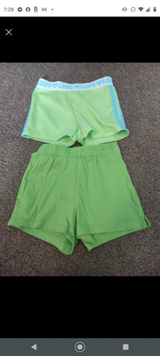 Girls Shorts 5T And 5/6