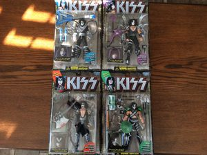 Mc Farlane, ultra action KISS Figures. for Sale in Jupiter, FL