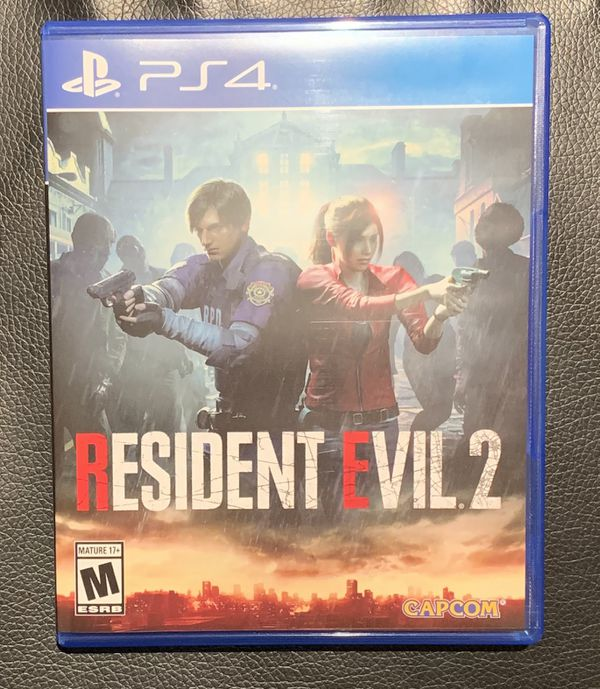 Resident Evil 2 Remake Ps4 Used Once For Sale In Canyon Country Ca Offerup