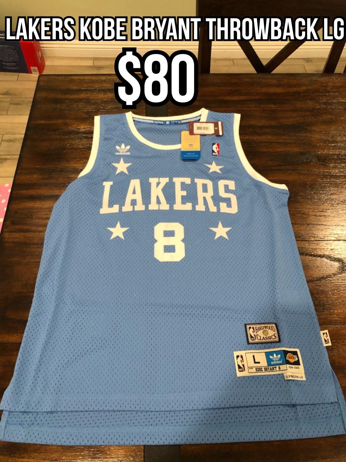 Nba adidas hardwood classic Los Angeles lakers #8 Kobe Bryant ...