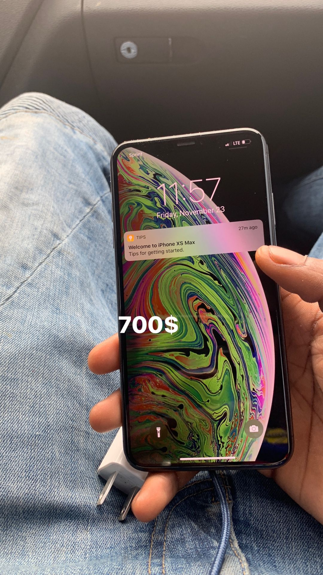 Iphone Xmax black (UNLOCKED)256gb