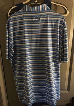Peter Millar Golf shirt sz Large Thumbnail