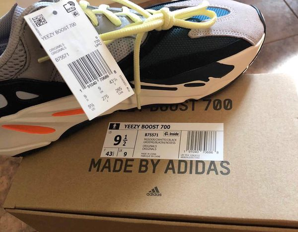 726495e4d3e6b Yeezy Boost 700 9.5 for Sale in San Francisco