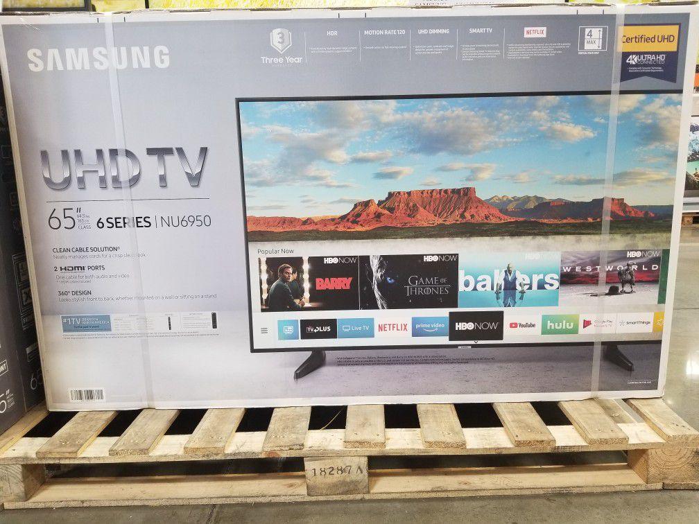 65 inches smart 4k UHD TV