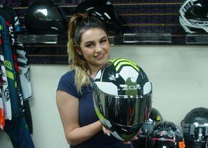 Photo Motorcycle helmet full face helmets, brand new black white hi viz medium large extra large DOT and ECE Certified ALL RIDER GEAR
