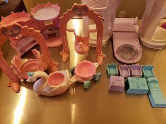 Lot Of 28 Piece Playskool Krystal Princess Lot 1992 Thumbnail