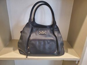 Photo KATE SPADE black leather purse SO cute