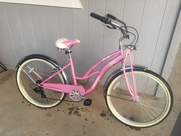 Roxie Schwinn 7 Speed Womens 26 Quot Comfort Beach Cruiser