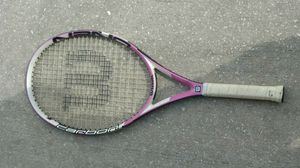 Photo Wilson Womans tennis racket. Carbon. Used once.