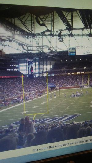 Nfl day trip to Ford Field!! for Sale in Cleveland, OH