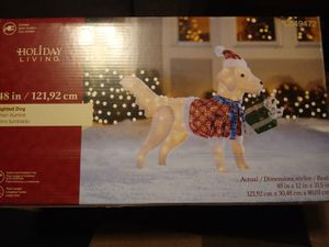 X-mass full.size dog With Lights, beautiful for Sale in Nashville, TN