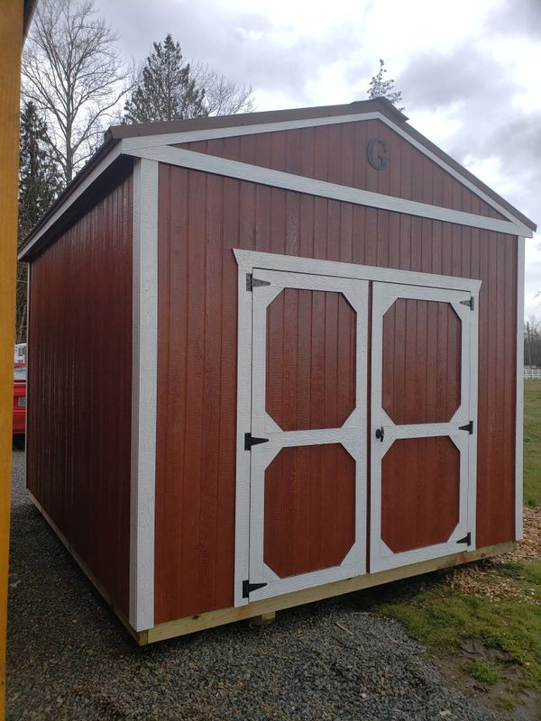 Utility Garden Tool Storage Shed Portable Building for ...