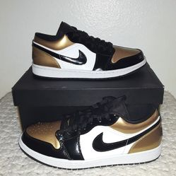 Air Jordan 1 Low 'Gold Toe' Size 11.5 Thumbnail