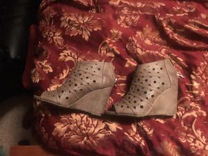 Size 6 Doll House Peep Toe Ankle Boots for Sale in Apex, NC