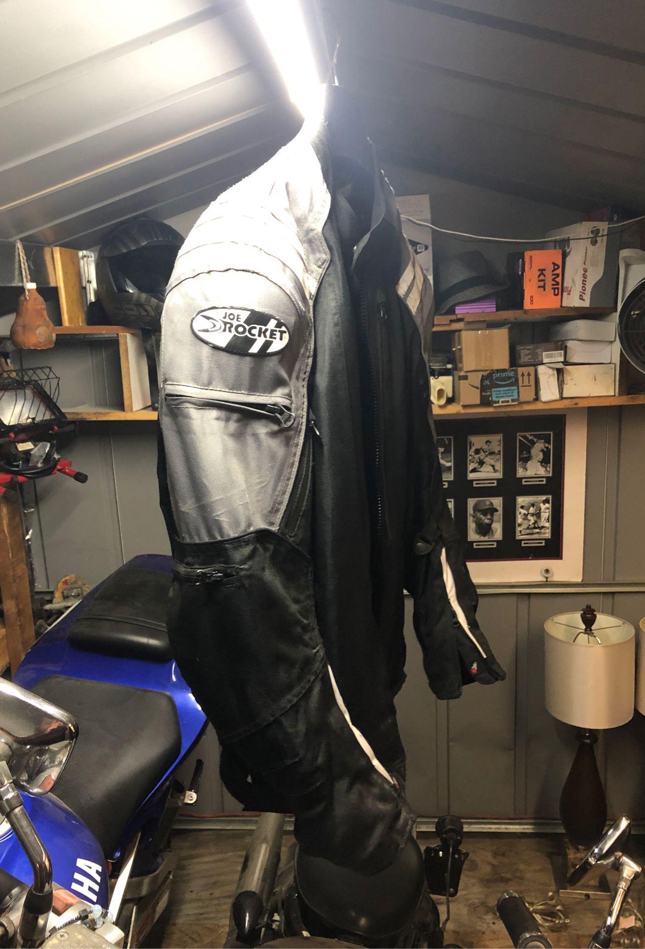 Joe rocket motorcycle jacket.