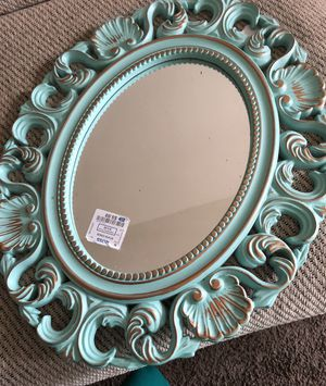 Blue chic wall mirror for Sale in Washington, DC