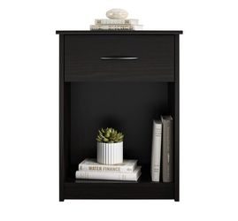 BRAND NEW  Mainstays Classic Nightstand with Drawer, Espresso MainstaysModel: DW96387 Thumbnail