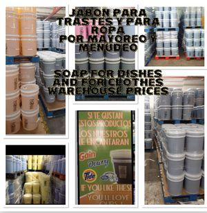 Photo Jabon / productos de limpieza -por mayoreo y menudeo