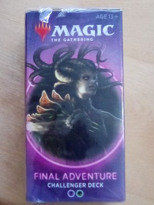 Photo Magic the gathering final adventure Challenger deck