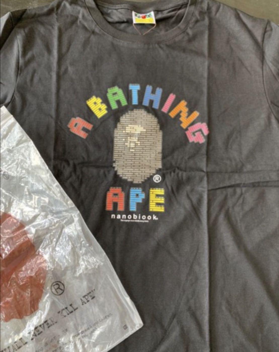 NEW AUTHENTIC BAPE T-SHIRT XL