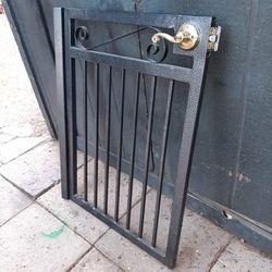 "36"" T , 25 1/2"" W  Metal Entrance Gate [Read Description] Thumbnail"