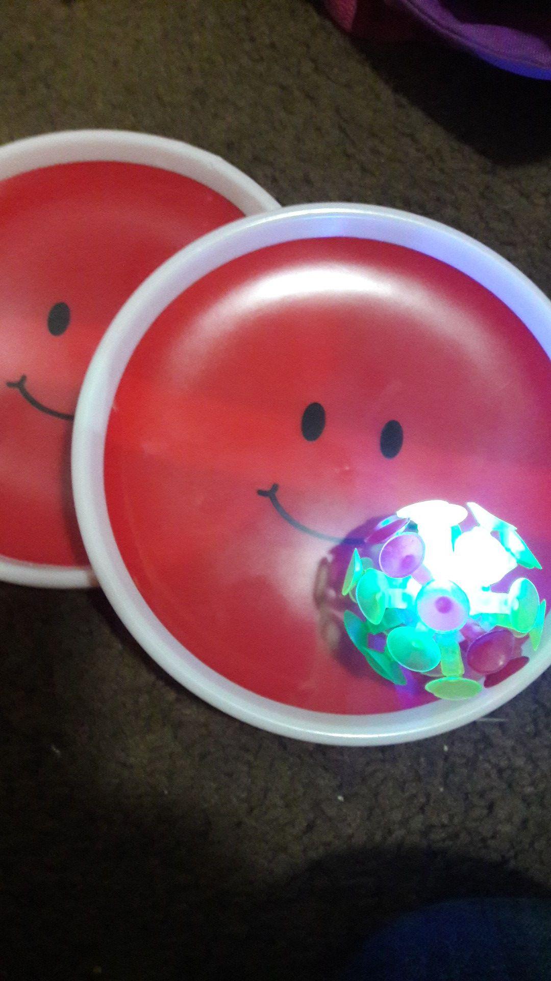 Light up ball caching