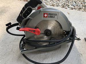 Photo Porter cable circular saw
