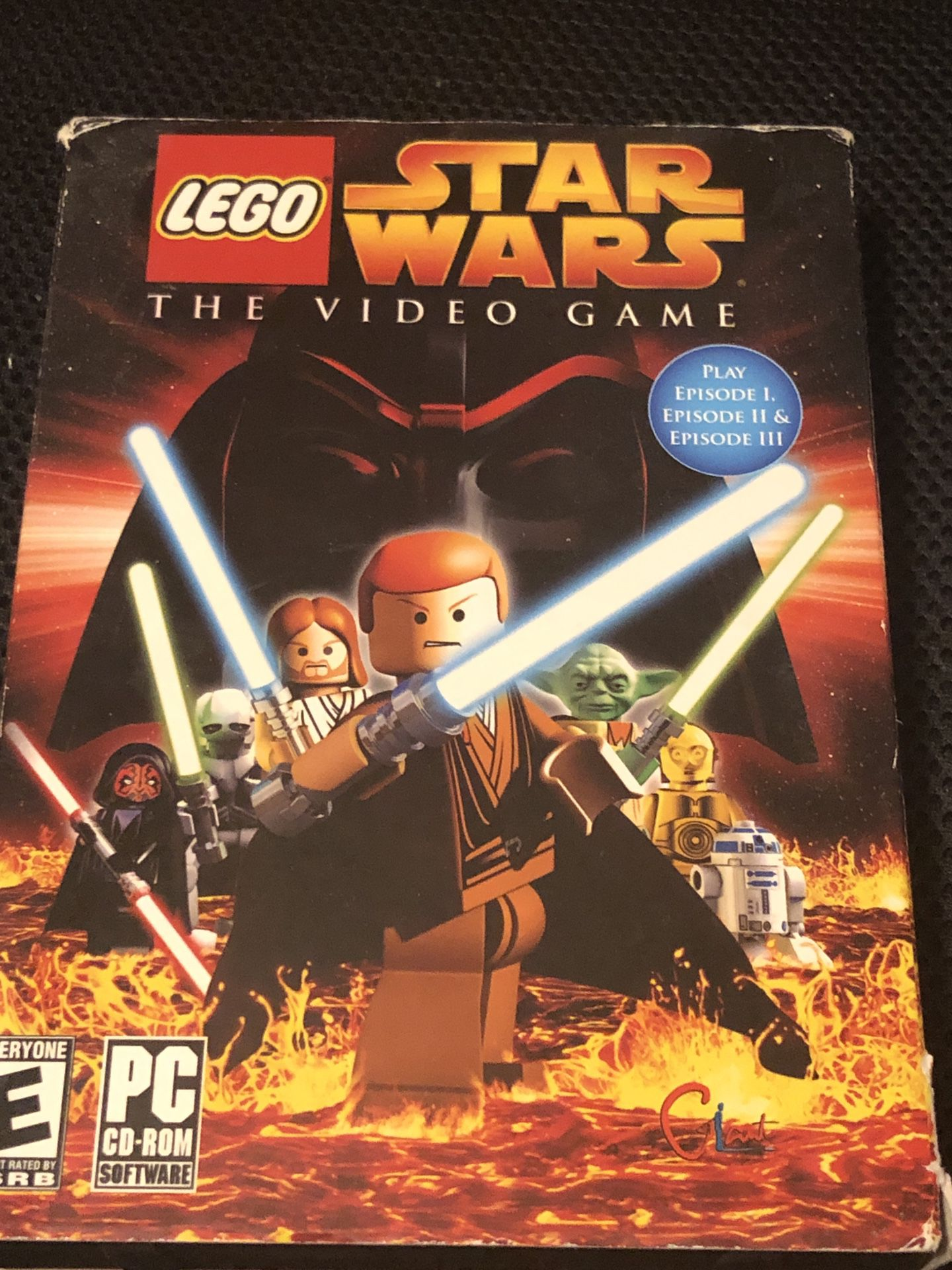 PC Windows DVD games, Star Wars, Lego, NBA