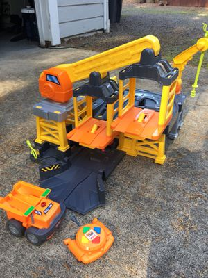 Fisher Price Big Action Construction Site Remote Controlled for Sale in Port Orchard, WA