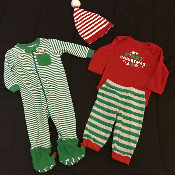 8efbf22c6 BABY XMAS CLOTHES / BABY CLOTHES / SIZE 6/9 MONTHS 4 PCS BUNDLE / PICK UP  ONLY. Hialeah ...