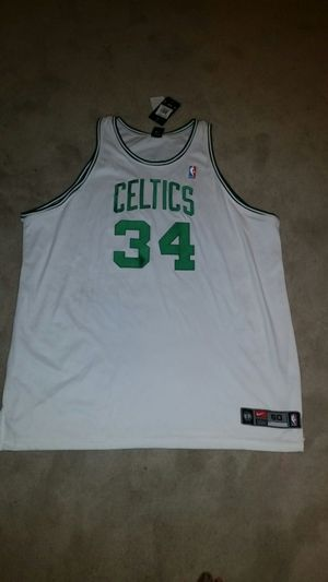 100% authentic Paul Pierce Jersey. Brand new with tags! for Sale in Chesterfield, VA