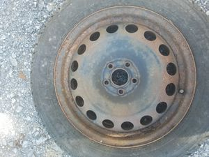 Steel Wheel and Tire for Sale in Mount Airy, MD