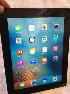 APPLE IPAD 3RD GENERATION 16GB WIFI SPACE GRAY IN EXCELLENT CONDITION for Sale in Apex, NC