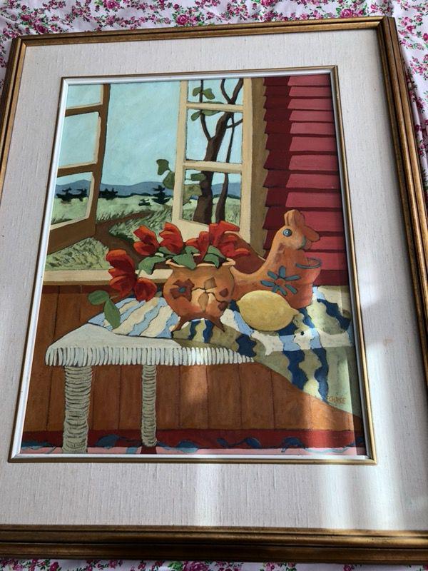 Artist Sherrill Chase Oil Painting