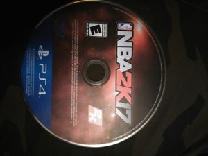 NBA 2K17 (like new) for Sale in Oxon Hill, MD