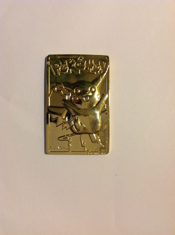 24 Karat Gold Plated Pokemon Trading Card For Sale In Overland Mo Offerup