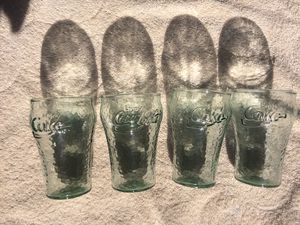 For Coke glasses for Sale in West Jordan, UT