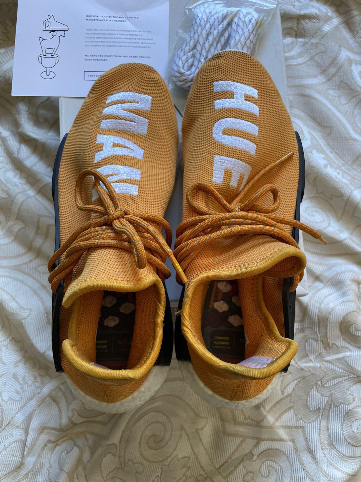 tangerine human races nmds, Adidas , Pharrel
