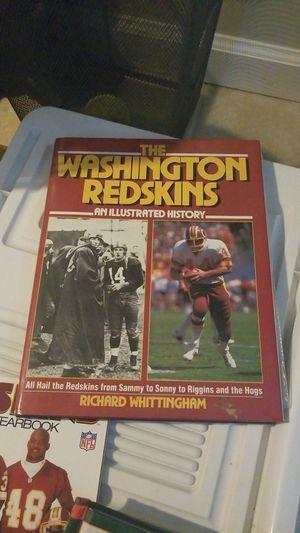 Various old sports books Redskins for Sale in Arlington, VA