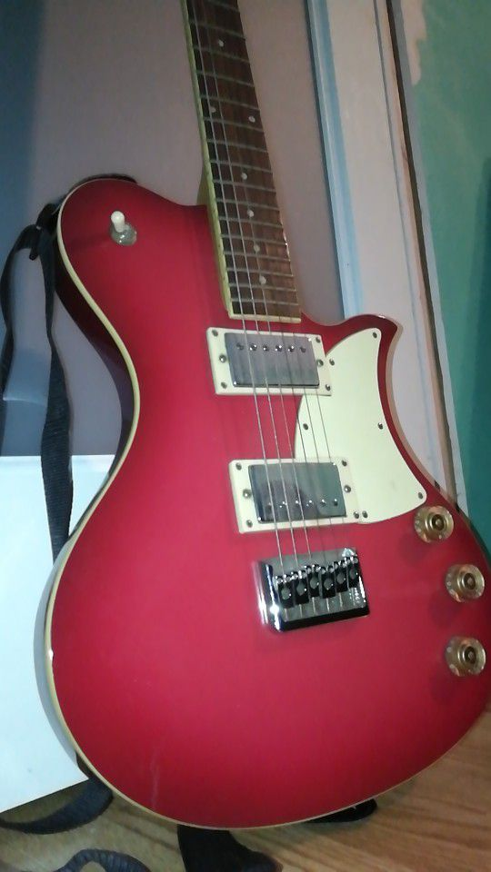 First Act Red Electric Guitar