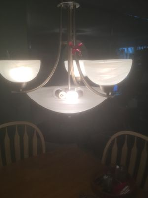 dining table pendant chandeliers for Sale in Sunrise, FL