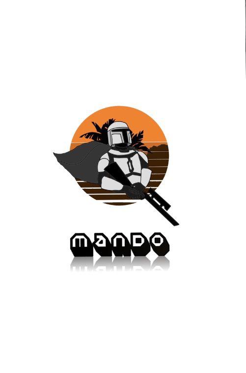 Customizable Mandalorian Poster