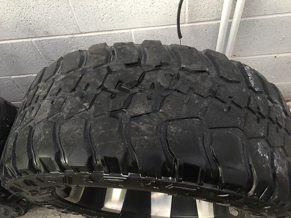 Gmc Tires Roanoke Rapids >> Got rims n tires 35x12.50R20 6 lugs for Sale in Sunland Park, NM - OfferUp